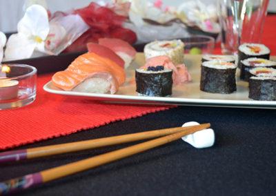mňam mňam mňam sushi